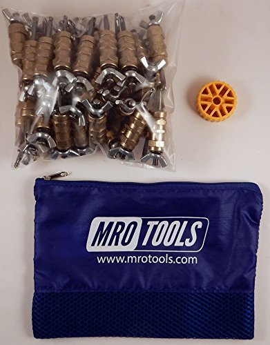 50 3/16 Standard Wing-Nut Cleco Fasteners w HBHT Tool & Carry Bag (KWN1S50-3/16) by MRO Tools Cleco Fasteners