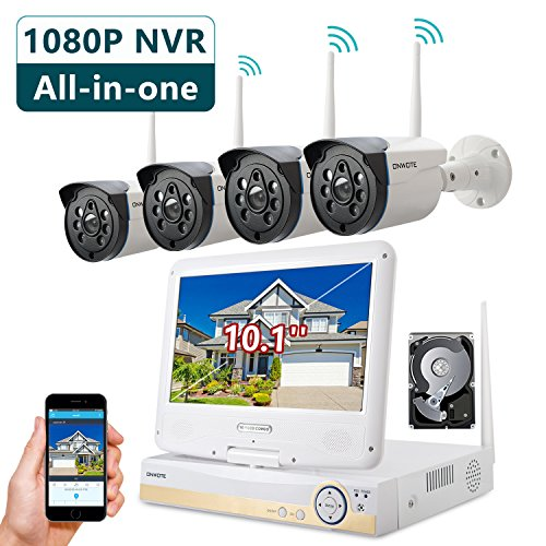 Buy 4 camera wireless security system with hard drive