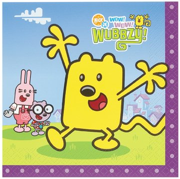 Wubbzy Lunch Napkins 16 count]()