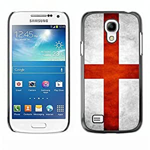 Shell-Star ( National Flag Series-England ) Snap On Hard Protective Case For Samsung Galaxy S4 MINI / i9190 / i9192