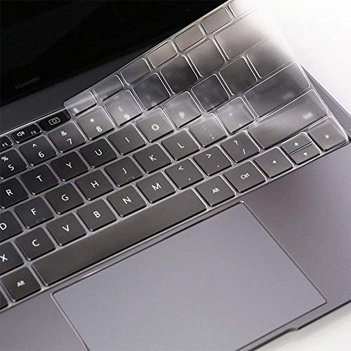 ImComor Huawei MateBook X Pro Keyboard Cover Ultra Thin Soft-Touch Clear Skin