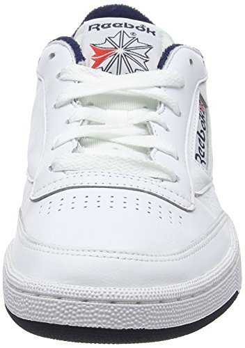 Basses Club Homme C 85 Blanc Archive Reebok Sneakers xXdPHqRPn