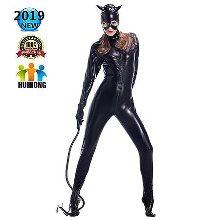 HUIHONG Ropa De Disfraces De Catwoman Traje De Cosplay De ...