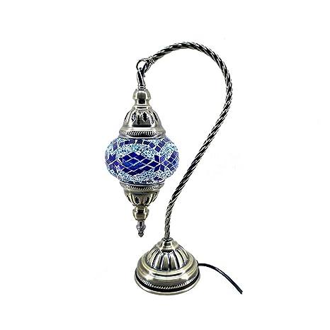 XFF Lámpara De Mesa De Mosaico Turco De Marruecos Marroquí ...