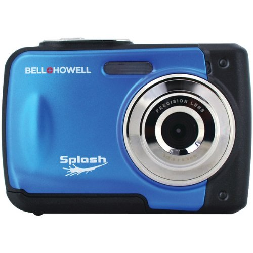 Bell+Howell Splash WP10-BL 12.0 Megapixel Waterproof Digital Camera with 2.4-Inch LCD (Blue)