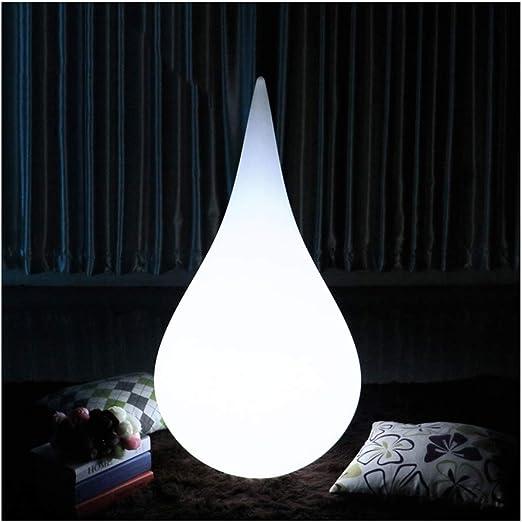Lampara de pie LED IP65 Impermeable for jardín, Bola de lámpara de Color RGB con Control Remoto for la decoración de la Fiesta en el jardín del hogar: Amazon.es: Hogar