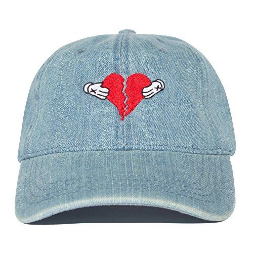 Uptop Studios - Gorra de béisbol - para hombre azul azul vaquero