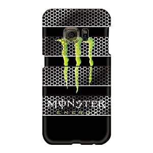 Protector Hard Phone Covers For Samsung Galaxy S6 With Allow Personal Design Vivid Monster Skin TrevorBahri
