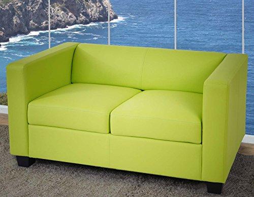 Serie lille m65 divano sofa 2 posti 70x75x137cm verde - Divano ecopelle ikea ...