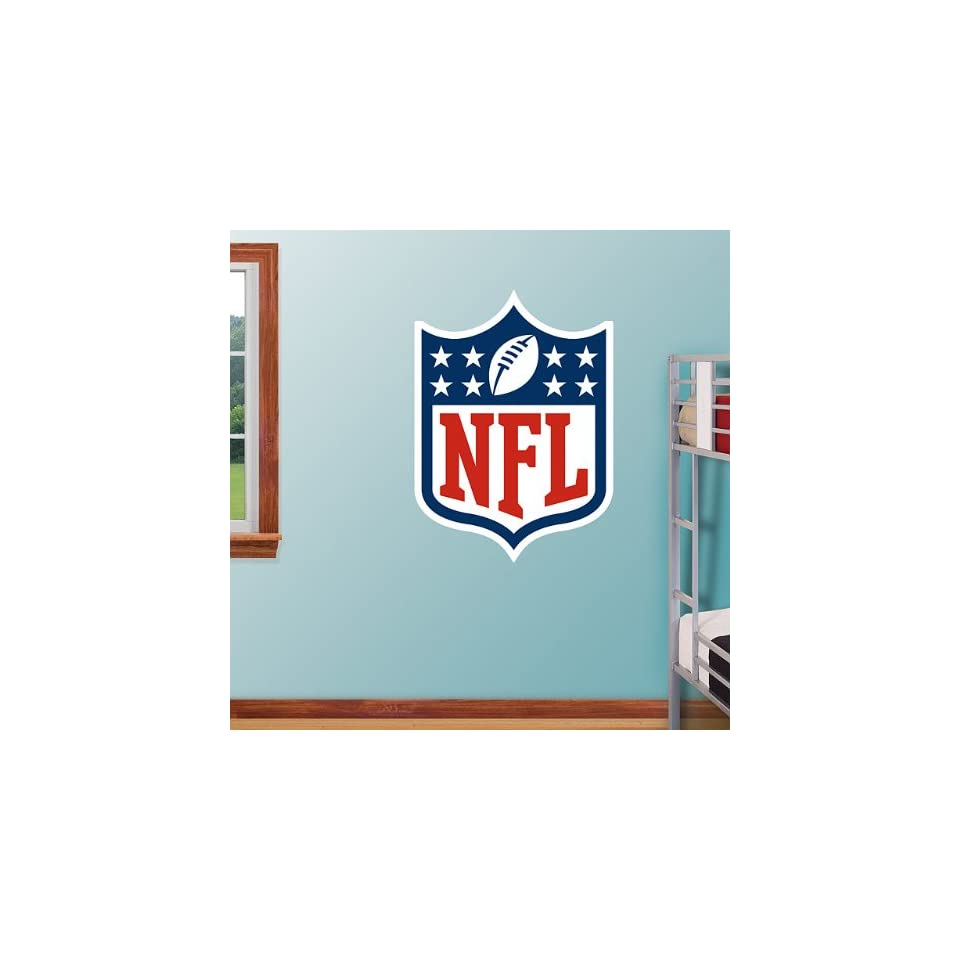FH1414100 NFL National Football League Logo Vinyl Wall Graphic Decal Sticker Poster