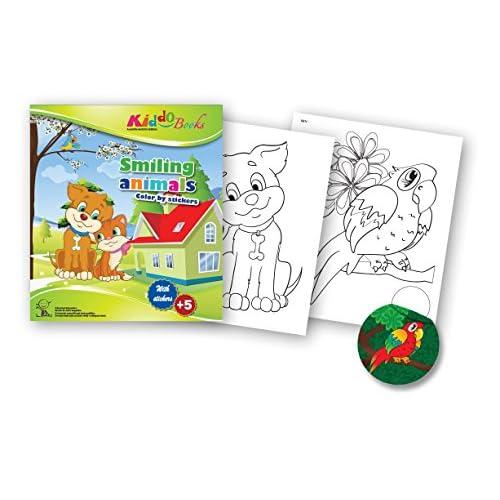 free shipping quac kduck libro para colorear Smiling Animals – Color ...