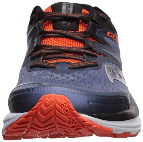 41 Sauconys20415 Uomo Guide grey black Iso Uomo orange Eu Da Multicolore w7wzIrq