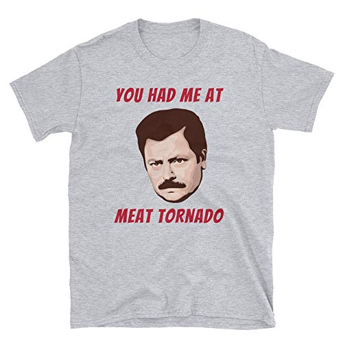 Parks and Rec Ron Swanson Meat Tornado