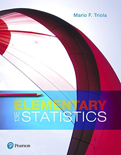 Elementary Statistics (13th Edition) cover