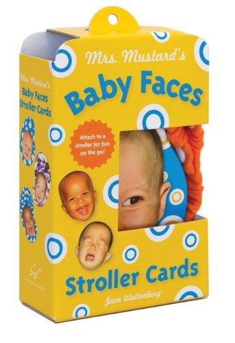 Baby Face Stroller Cards - 2