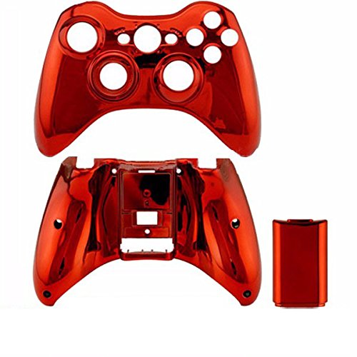 Buy xbox 360 controller shell case red