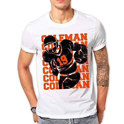 Coleman Football - Number 19 Coleman Football Customized Handmade T-shirt Hoodie/Sweater / Long Sleeve/Tank Top/Premium T-shirt