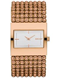 DKNY Sparkling Rose Gold PVD Ladies Watch NY8446