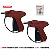 Amram Tagger Standard 2 Pack Tagging Gun for Clothing. Includes 6 Needles.