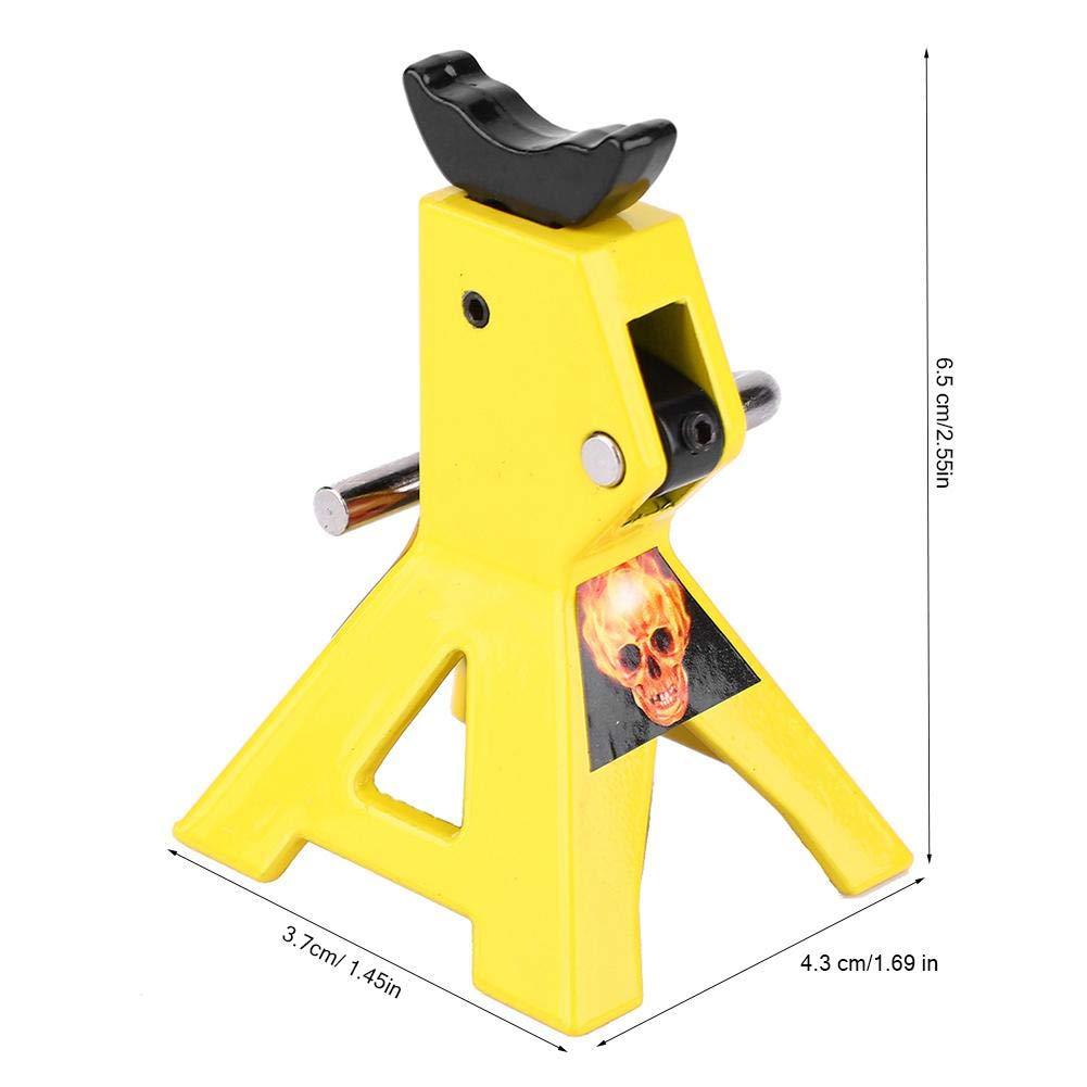 3tone Jack Stands Car Jack Truck Jack Car Jack Stand Jack Stands Safe Jack 2pcs 1//10 Mini Simulation Metal Jack Stands Fits for D90 SCX10 RC Crawler Car