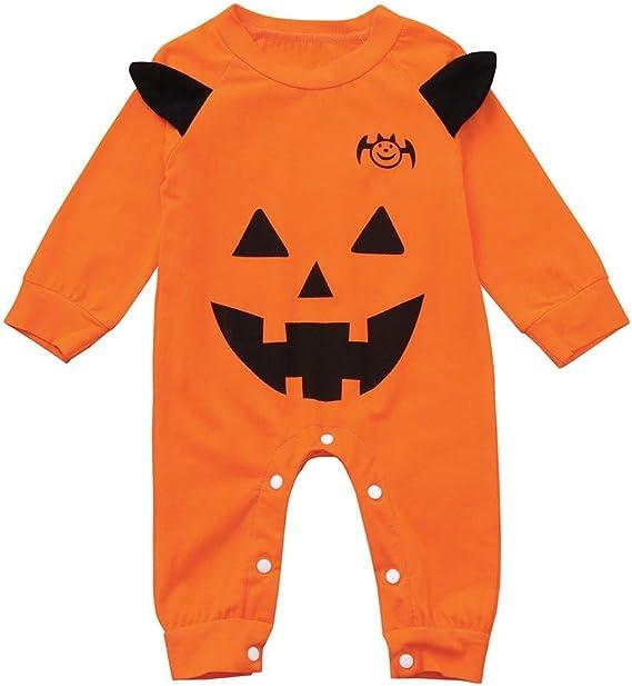 ZEZKT Bebé Disfraz Halloween, Dibujos Animados Peleles Bebé NiñO ...
