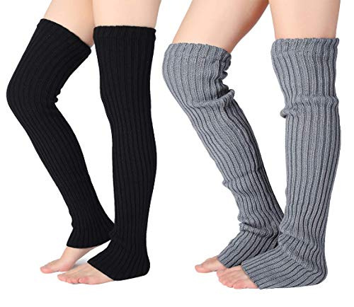 Pareberry Womens Winter Footless Warmers product image
