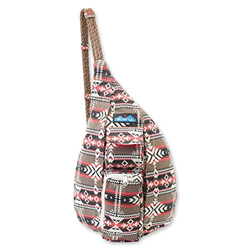 Canvas Teardrop Pack - KAVU Women's Mini Rope Bag Outdoor Backpacks, One Size, Canyon Blanket