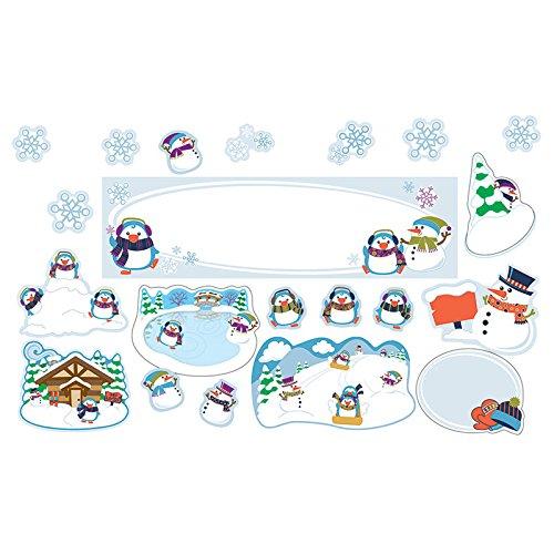 (Winter Mini Bulletin Board Set)