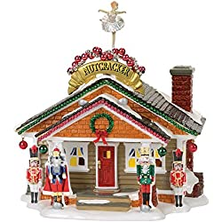 Department 56 Snow Nutcracker House Village Lit Building, Multicolor