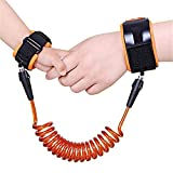 Kidsidol bebé niño anti muñeca perdida enlace arnés de seguridad de 2.5 m para niños suave cómoda segura para niños (naranja)