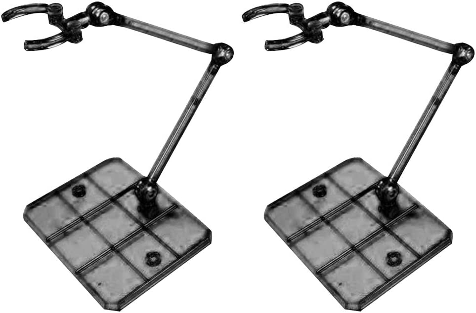 LOVIVER 2Pcs Action Base Suitable Clear Display