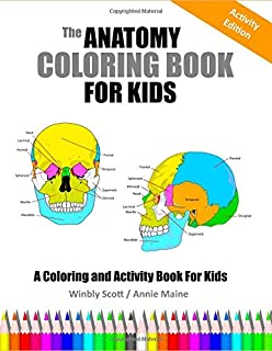 Human Anatomy Coloring Book Dover Children S Science Books