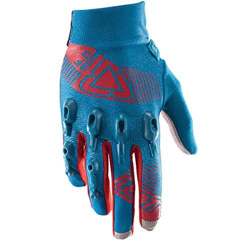 Leatt DBX 4.0 Lite Adult BMX Bike Gloves - Fuel/Red / X-Large