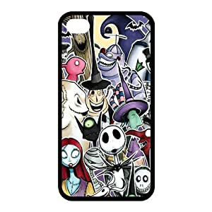 Customize Cartoon Movie Nightmare Before Christmas Back Case for iphone 4 4S JN4S-2002