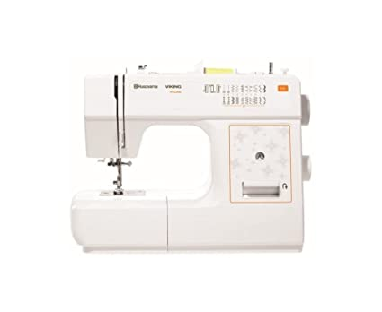 Amazon E40 Husqvarna Viking Sewing Machine White Kitchen Dining Adorable Husqvarna Sewing Machine Sale