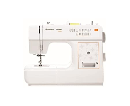 E40 Husqvarna Viking Sewing Machine White Amazoncouk Kitchen Home Awesome Viking Sewing Machine Models