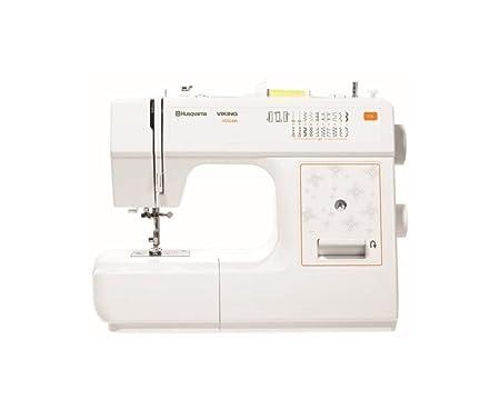 E40 Husqvarna Viking Sewing Machine White Amazoncouk Kitchen Home Awesome Viking Sewing Machine Models