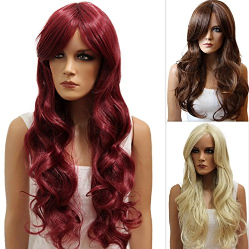 PRETTYSHOP Lady Full Wig Long Hair Cosplay Curled Heat-Resistant Variation 51hb7aJxXQL