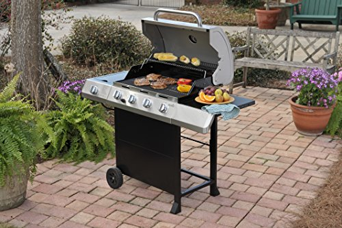 047362343628 - Char-Broil Classic 4-Burner Gas Grill with Side Burner carousel main 5