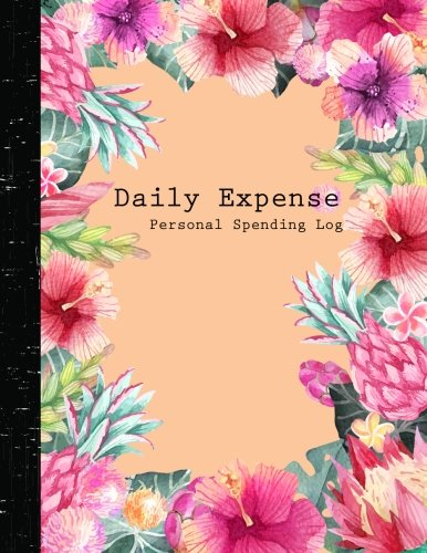 Daily Expense Log : Personal Spending Log :Accounting Journal Entry Book