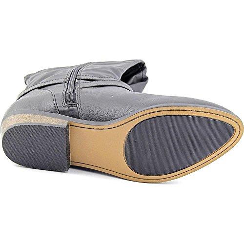 Dames Capri Wc Medium Gesloten Teen Mid-kalf Mode Laarzen Zwart
