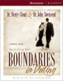 Boundaries in Dating, Henry Cloud and John Townsend, 0310238749