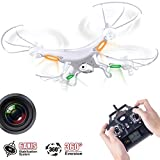 Syma X5C 2.4ghz 6-axis Gyro Quadcopter Rc Drone UAV UFO RTF with 2mp Hd Camera