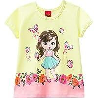 Camiseta Manga Curta Estampada, Meninas, Kyly