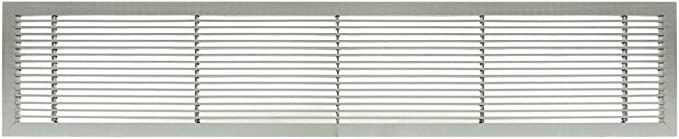 Architectural Grille 100043601 Ag10 Series 4 X 36 Solid Aluminum Fixed Bar Supply Return Air Vent Grille Brushed Satin Amazon Com