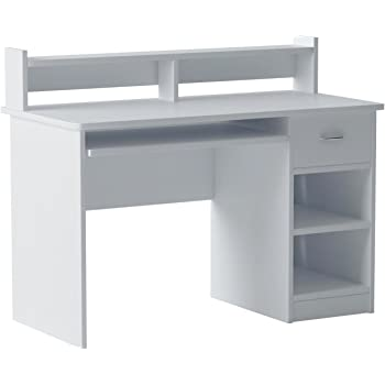 Amazon Com Onespace Essential Computer Desk Hutch With