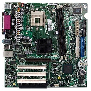 Hewlett Packard Compaq 283983-001, Socket 478, Intel Motherboard (Lan Socket 478)
