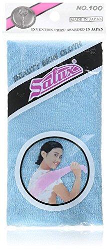 Salux Nylon bath towel 1pc blue