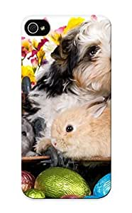 53894e92811 Runandjump Kien Dog Puppy Rabbits Chickens Eggs Flowers Easter Durable Iphone 5/5s Tpu Flexible Soft Case With Design