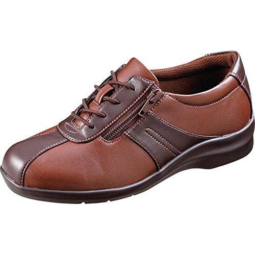 魔法の靴(=GPSインソールシューズ)gps端末を持たずにもたせる EVE195 (23.5, ブラウンコンビ) B06XY1LX3K  ブラウンコンビ 23.5